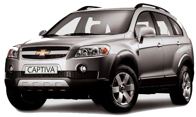 Chevrolet Captiva Orient Bus