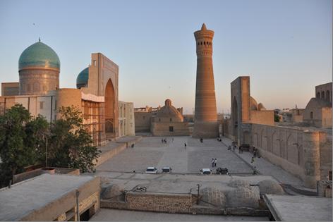 Базары и купола Самарканда
