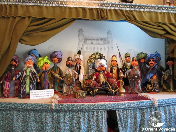Bukhara, puppet workshop