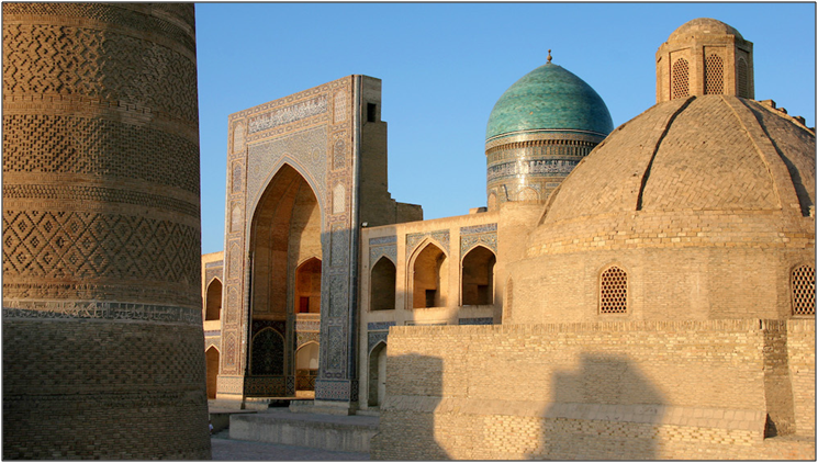 Turqouise-domed cities of the Silk Road